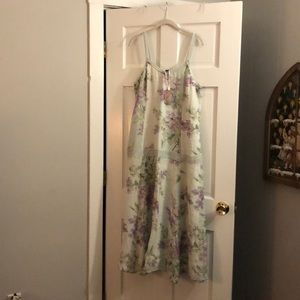 April Cornell Lilac Linen Dress